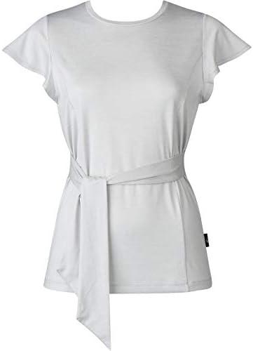 アウター トップ Tシャツ(半袖) 吸汗速乾 抗菌防臭 UVカット DFY505 レディース