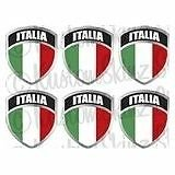 italian stickers hardhat - 5