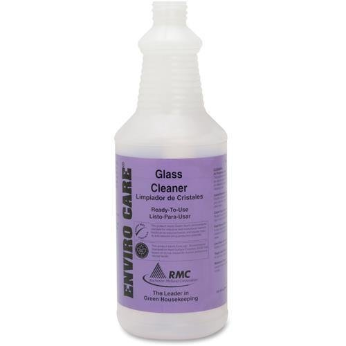 35064373 RMC SNAP! Bottle for Enviro Care Glass Cleaner - Frosted Clear - Plastic