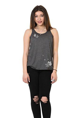mangas 3elfen verano sin mujer camisa espalda impresi mangas el para camiseta blusa sin IqxIwzrF