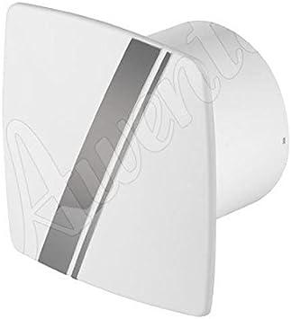 Campana extractora estilo linea 100mm Awenta blanca pared del baño cocina con cable de tracción: Amazon.es: Bricolaje y herramientas