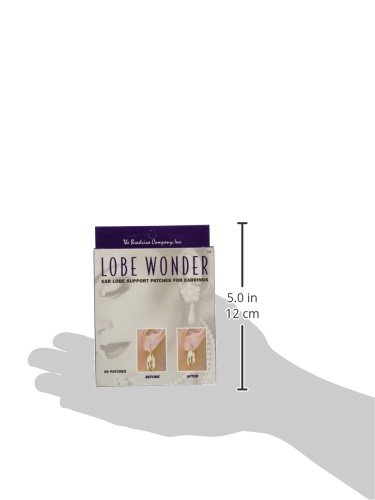 Lobe Wonder Repair Earring Support Patches 60 Count (3 Pack)          by Lobe Wonder