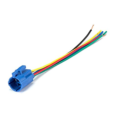 19mm 3//4 12V Latching Blue Angel Eye Halo Ring LED Metal Push Button Toggle Car Switch 1NO1NC SPDT With Wire Socket Plug