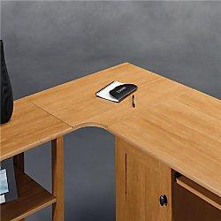 Amazon Com Realspace Dawson Corner Connector To Create L Shape Desk