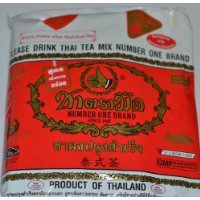 The Original Thai Iced Tea Mix, Number One Brand From Thailand! 400g Bag by BUALMARKET