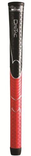 Dri-Tac AVS 5DT-BRD Black/Red Standard Grips, Outdoor Stuffs