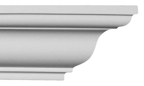 - Crown Molding - Plastic Crown Moulding Manufactured with a Dense Architectural Polyurethane Compound. Cm-1014 - 8 Moldings.