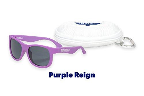 Babiators Gift Set - Purple Reign Navigator Sunglasses (Age 3-7+) and Awesome Cloud - Reign Sunglasses