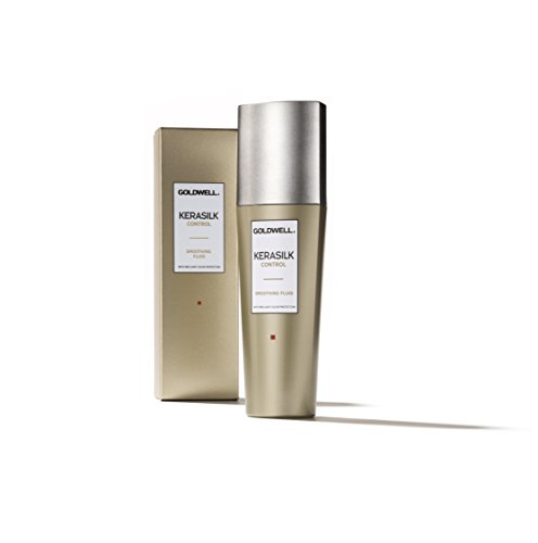 Goldwell Kerasilk Control Smoothing Fluid - Keratin & Silk For Sleek Style & Heat Protection - ()