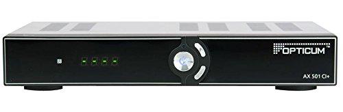 Opticum HD AX 501 HDTV-Satellitenreceiver (PVR, CI+, HDMI, Kindersicherung) schwarz