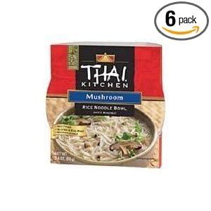 Thai Kitchen Rce Ndl Bwl Mushroom Wfm   Ounce Pack Of