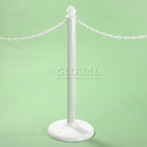 50'L Chain White For Traffic Control