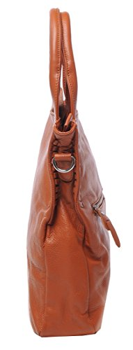 Tote for Handle Purse Brown Office Shoulder Soft Body Bag Handbags Heshe and Womens Satchel Leather Bags Cross Top Lady Y8Zqx4w