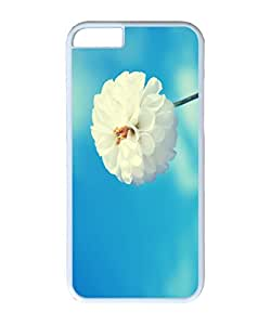 VUTTOO Iphone 6 Plus Case, Spring Flower Hard Case for Apple Iphone 6 Plus 5.5 Inch PC White