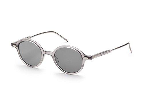 3768d4dd201 THOM BROWNE TB 407 C-T-GRY Satin Crystal Grey w  Dark Grey-AR Sunglasses