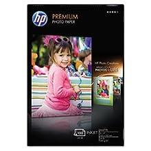 HP Q6563A Premium Photo Paper - Soft Gloss, 100 Sheets