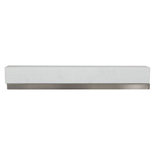 """Price comparison product image 18"""" RV Vanity Light With Cover 12V LED Satin Nickel"""