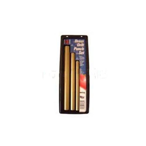 3 Piece Brass Drift Punch Set-2pack