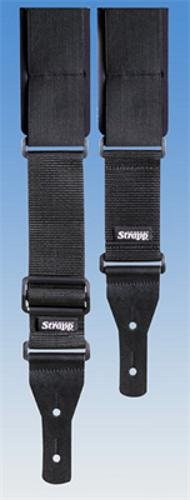 Comfort Strapp Bass Guitar Strap - Long -  002-BL