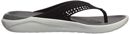 Mixte Chaussures Plage Crocs Adulte Black Flip Piscine smoke amp; De U Literide twUUq8X