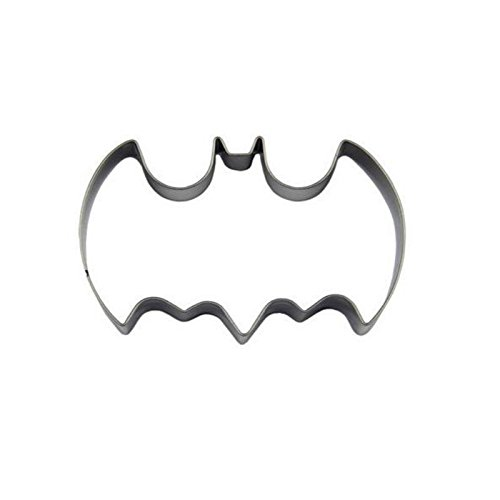 Halloween Creative Stainless Steel Fondant Biscuit Cutter Bat Batman Cake (Batman Cake Fondant)
