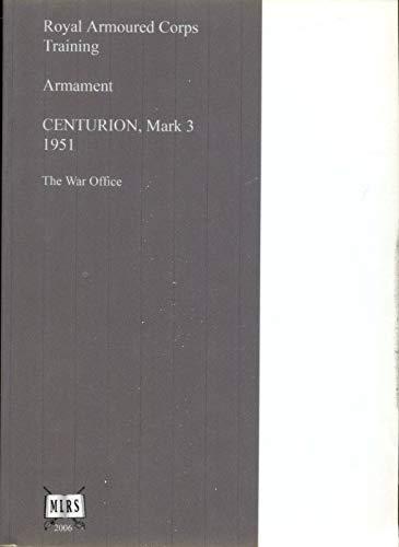(User Handbook for Centurion Mk. 3 )