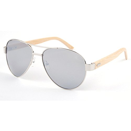 My.Monkey Natural Wood Frame Fashion Classic Wayfarer - Sunglasses Sale Tribes Mosley