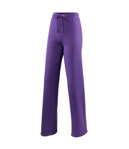 AWDis Femmes Filles Compatible avec Pantalon survêtement - Pourpre, 8