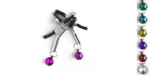 ASTEXTY Stainless Steel Bútterfly Clip Brêast Nípple Clamps with Chain Clips BDSM Bondage Couples Erótic - Clamps Nipple