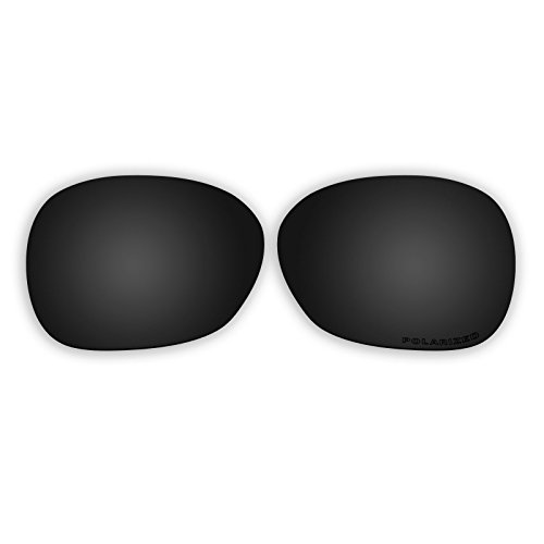 Polarized Replacement Sunglasses Lenses for Oakley Pulse OO9198 with UV Protection (Black) -