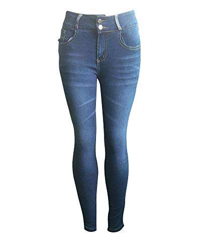 Ocio Jeans Push La Pantalones Mujeres Como Elástico Skinny Vaqueros Imagen3 Quge Up qw0Yfa1