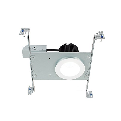 Lighting Standard Recessed Ic Non - WAC Lighting HR3S-R30F-WT Summit LED Energy Star Non-IC Airtight Remodel Recessed Downlight with Round Trim, 3.5