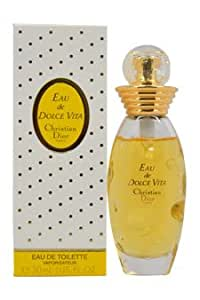 eau de dolce vita by christian dior for women 1 oz edt spray dolce vita perfume. Black Bedroom Furniture Sets. Home Design Ideas