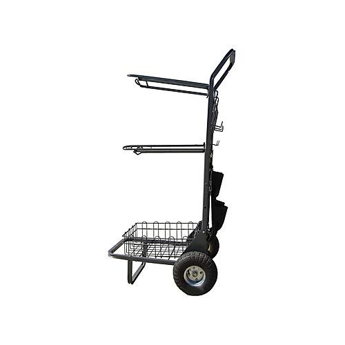 Other Rolling Saddle Rack Cart