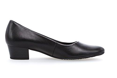 Gabor 72.200.51, Chaussures Noires À Talons Hauts Pour Femmes