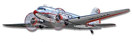 Dc 3 Tin Airplane - DC-3 AIRPLANE