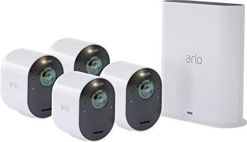 Arlo Ultra 4K Wire-Free HDR Security Cameras Surveillance / 4-Camera by Arlo
