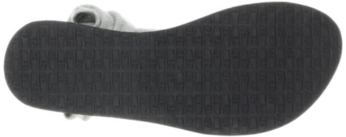 Sanuk Women's Yoga Sling Slingback Sandal,Grey,5 M US