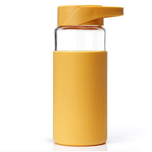 Simple Creative portable glass,Insulation drop resistance silicone cup portable