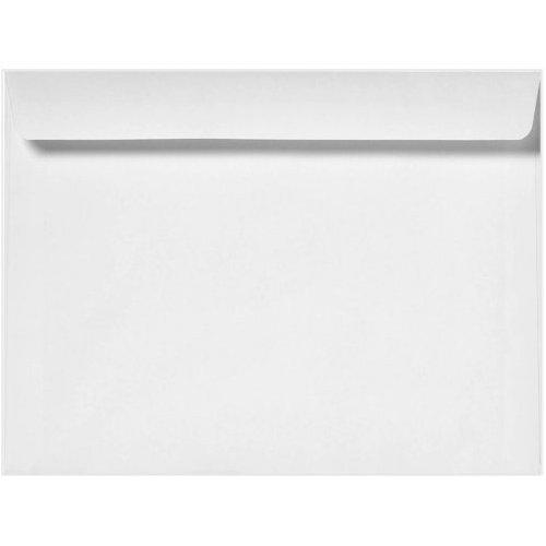 10 x 13 White Booklet Envelope, 28LB, 100 Count- Item# MBK1013NW Minas Envelope OP-1529