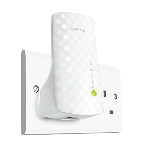 TP-Link Network RE200 AC750 WiFi Range Extender Dual band 750Mbps with 802.11b/g/n Retail by TP-Link