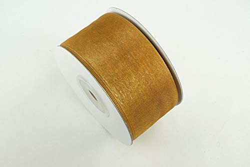 Ribbons - Old Gold 3 Rolls - 1-1/2