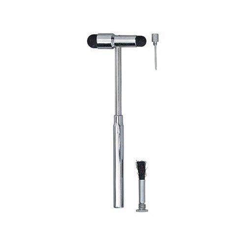 3 in 1 - Neurological Percussion Reflex BUCK Hammer by CM