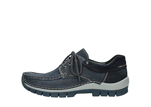 Blue 3204 Oiled Womens Wolky 11802 Leather Nubuck Sandals Jewel FSxHwqY
