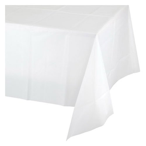 White Tissue Round Paper Tablecover