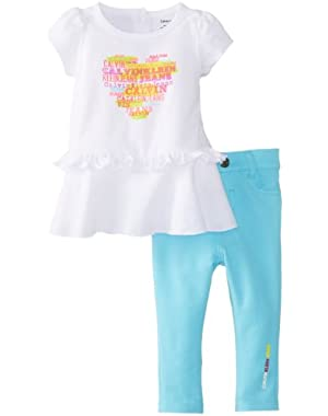 Baby-Girls Newborn Top with Pants