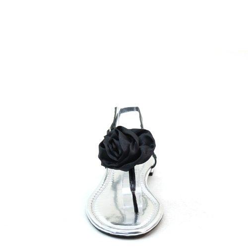 Sandals Flat New Strappy Flower Womens flop Brieten Flip Comfort xZqAn48R