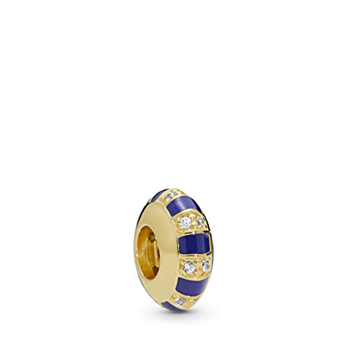 - PANDORA Exotic Stones and Stripes 18k Gold Plated PANDORA Shine Collection Charm - 768029CZ