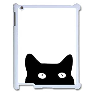 Personalized New Print Case for Ipad 2,3,4, Black Cat Phone Case - HL-R637873