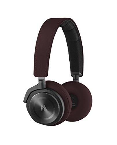 Bang & Olufsen Beoplay H8 Wireless On-Ear Headphone with Active Noise Cancelling - Deep Red